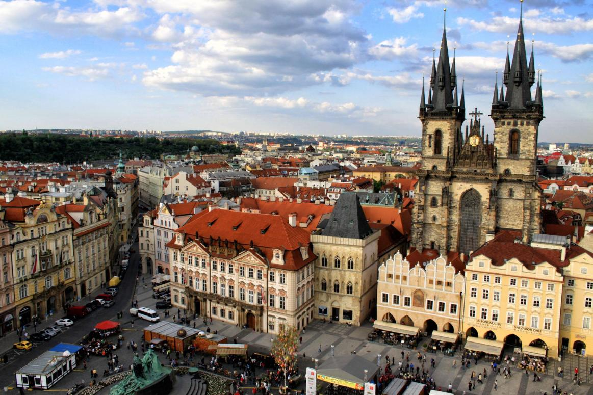 10 day central europe itinerary budapest vienna for Central prague