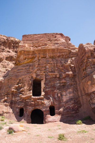 Tombs on the hike