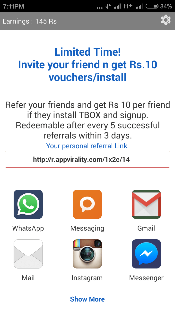 Freecharge free coupons today