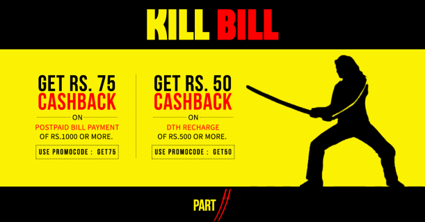freecharge dth postpaid killbill coupon
