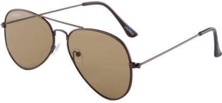 Laurels Scalar Flate Aviator Sunglasses