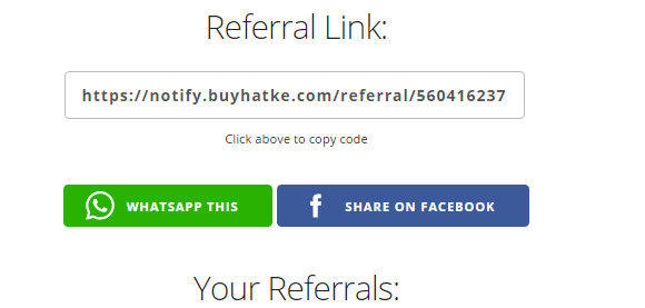 referaal link buyharkke