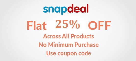 snapdeal new user offer