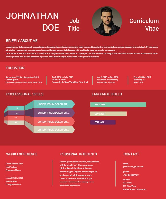 Visual and Vibrant - Your New CV - Create Amazing Infographics Easelly!