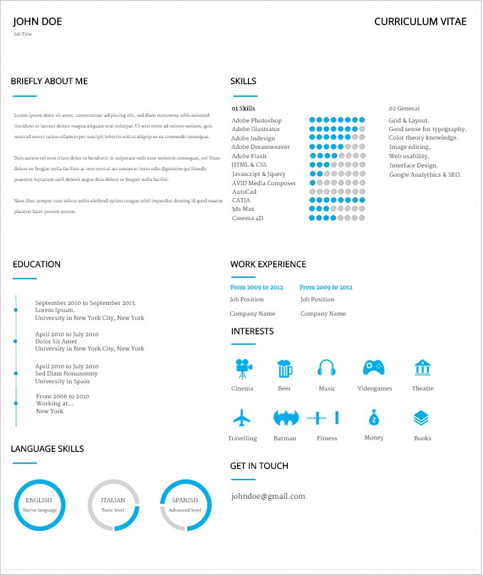 5 Steps to an Amazing Resume - Create Amazing Infographics Easelly! - step by step resume
