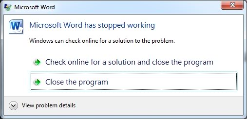 2019 Fix Microsoft Office Word has stopped working Windows 10/8/7