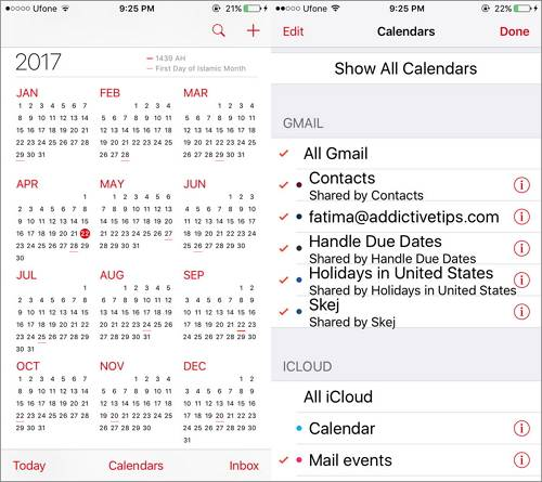 How to sync multiple Google calendars to your iPhone easily - EaseUS - google calendar not syncing with iphone