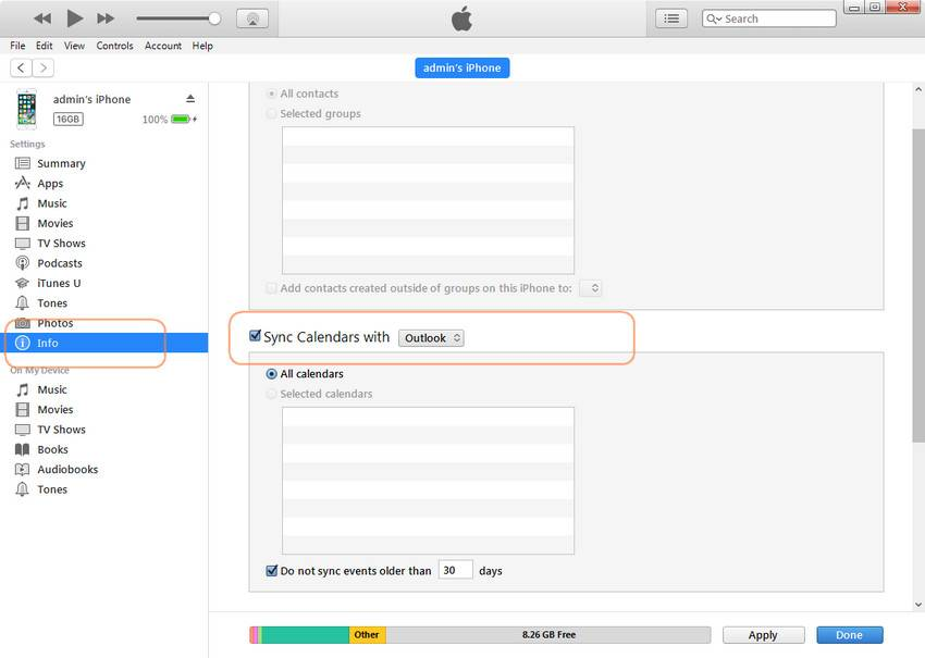 How to Sync Outlook Calendar with iPhone - EaseUS