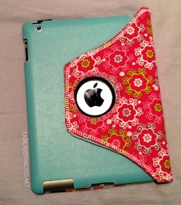 iPad cover: back