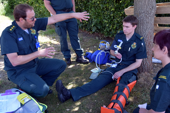 Student paramedic