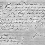 Will of John Holmes of Beaufort County, NC (Probate 1873)