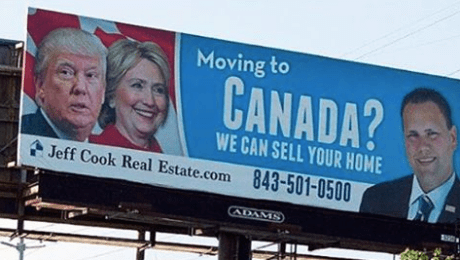 Moving to Canada if Trump Wins