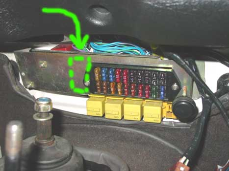 Land Rover Defender 90 Fuse Box Wiring Diagram