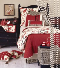 Luxury Bedding by Eastern Accents - Sakura Collection