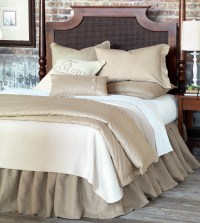 Luxury Bedding by Eastern Accents - Rustique Burlap Collection