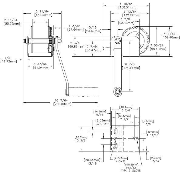 Dutton-Lainson 600 lb Hand Winch DL600A eBay