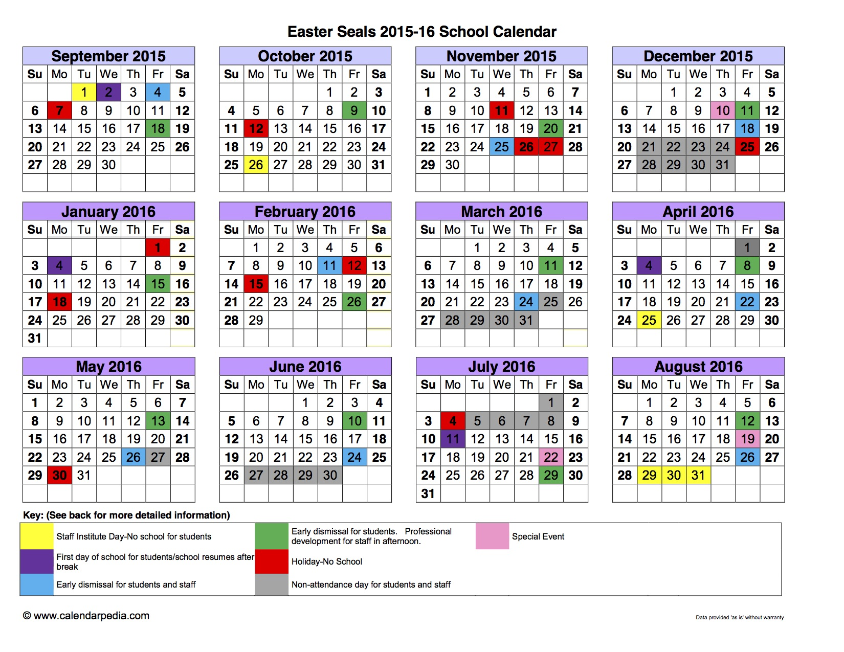 Academic Calendar The New School Maine University Of Maine School Of Law Easterseals Serving Chicagoland And Rockford School