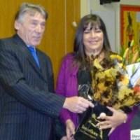 Cheryl gets top award