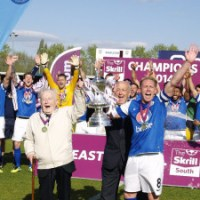 Eastleigh have won the Skrill South title