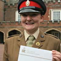 Army Cadet's Gold Award