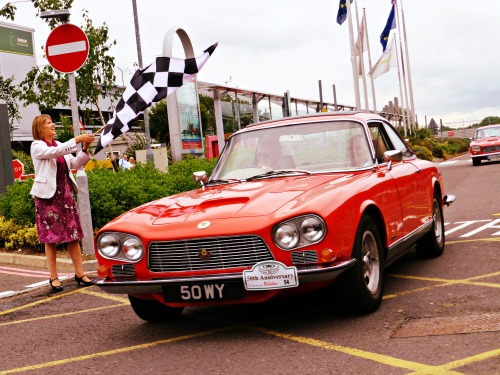 Eastleigh's luxury sports car celebrates 50 years