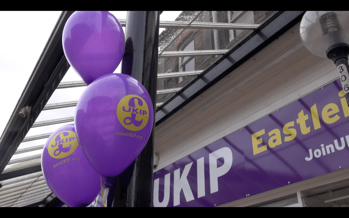 Ukip launch election campaign in town centre