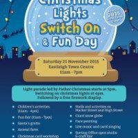 Eastleigh set for Christmas light switch on