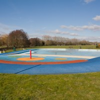 Vandals close paddling pool