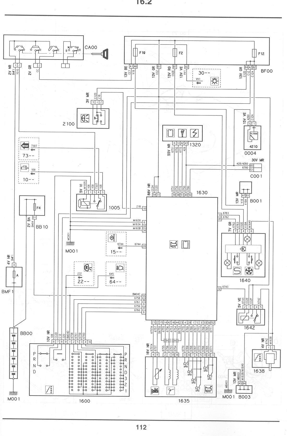 citroen c4 engine wiring diagram