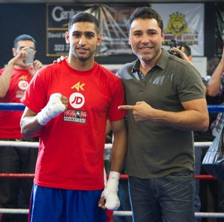 Amir Khan and Oscar
