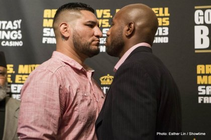Arreola vs. Mitchell: Will the pre fight emotions spill into Saturdays fight?