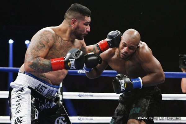 Chris Arreola vs Seth Mitchell