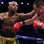 Floyd Mayweather Extends Undefeated Record To 44 0 In Front Of 15,880 At MGM Grand Garden