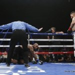 Chris Arreola stuns Seth Mitchell with first round knockout and Esquivias stops Marquez in nine