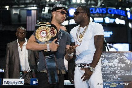 Paulie Malignaggi   Adrien Broner Final Press Conference Quotes & Photos