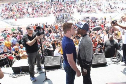 THE ONE: Mayweather vs. Canelo Press Conference     Grand Rapids, Mich.