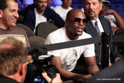 Mayweather heads for 2014 bout with Pacquiao: belt or no belt?