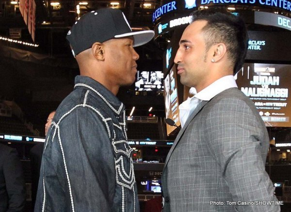 009 Judah and Malignaggi face off IMG_0565