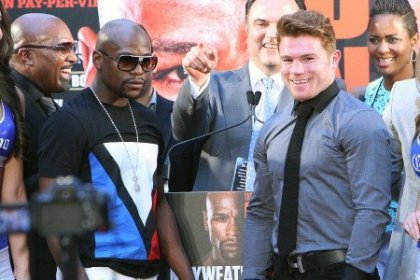De La Hoya: Canelo vs. Mayweather = the perfect storm to break records