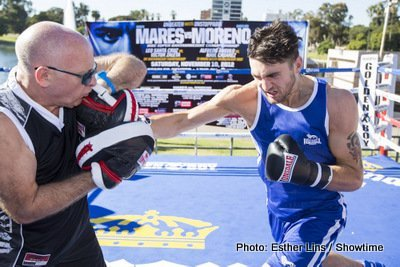 Mares, Moreno, Cleverly Workout Quotes