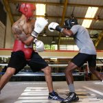 Jose Gonzalez getting ready for Ricky Burns fight on May 11th