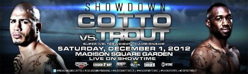 Miguel Cotto and Austin Trout host New York press conference on Monday   OPEN TO THE PUBLIC!