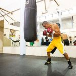 Photos: Giovani Segura works out for Jonathan Gonzalez In Puerto Rico