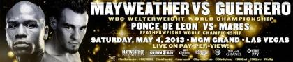 50,000 tickets sold for Mayweather Guerrero, Canelo Trout