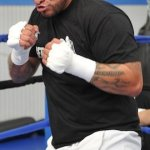 Video: Chris Arreola media workout