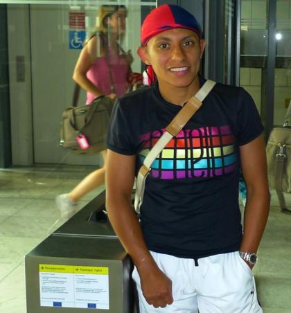 WBA Champion Carina Moreno Arrives In Germany to face Susi Kentikian