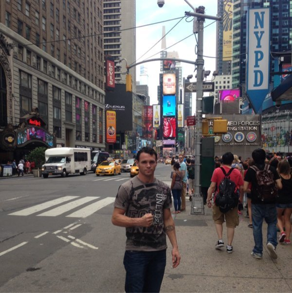 Photo: Daniel Geale Arrives In New York City