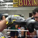 Daniel Geale & Darren Barker media workout quotes