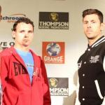 Photos: Daniel Geale and Darren Barker from todays press conference