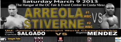 Arreola Stiverne on March 9th in Costa Mesa, California,